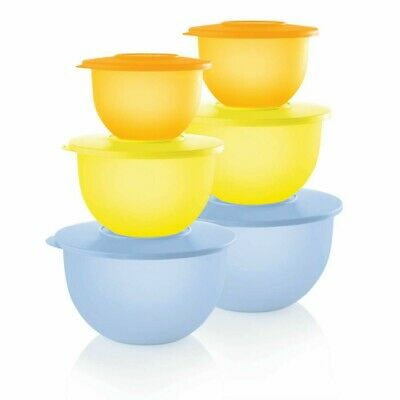 Tupperware Impressions  Mixing Bowls...set of 6....BRAND NEW!!  ONE WEEK ONLY!