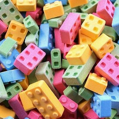 CANDY LEGO BLOCKS BLOX 4 FLAVORS 1 lb.