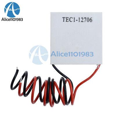 Tec1-12706 Heatsink Thermoelectric Cooler Cooling Peltier Plate Module 12v 60w