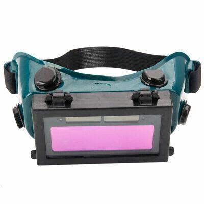 Solar Powered Auto Darkening Welding Goggles Black