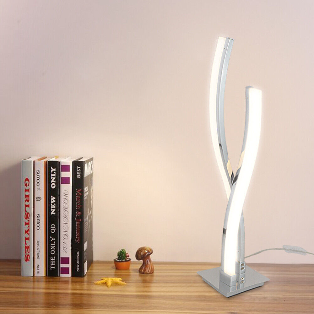 LED Table Lamps for Bedrooms Modern Arc Desk Lamp Contempora
