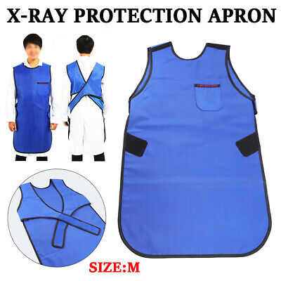 M Size X-ray Protection Apron Lead Vest Cover Shield Dental Medical 0.35mmpb