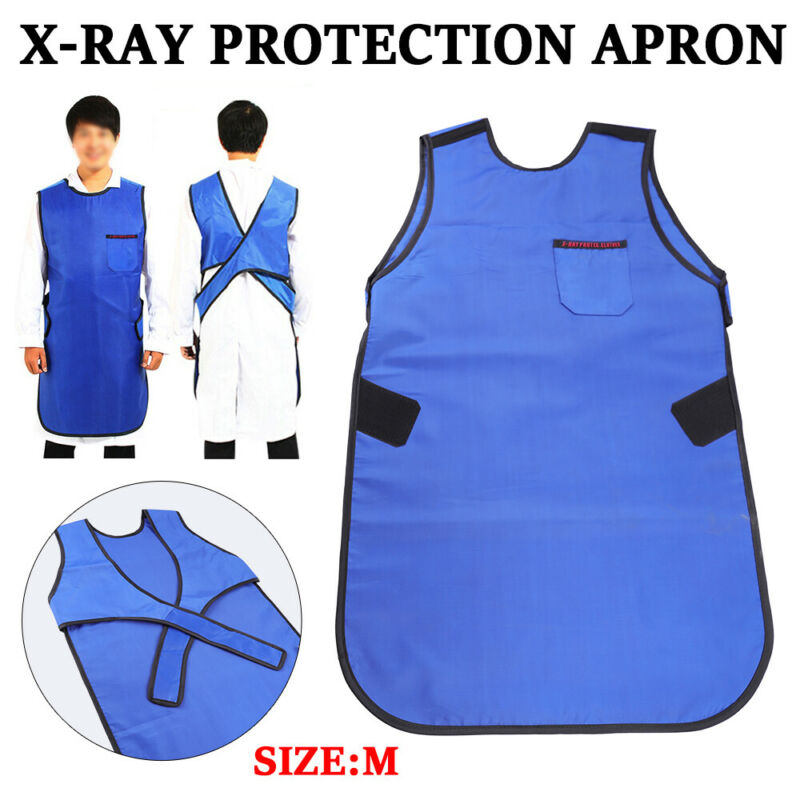 M Size X-Ray Protection Apron Lead Vest Cover Shield for Lab Dental Medical