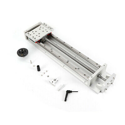 Electric Sliding Table Ballscrew Cnc Cross Slide Linear Rail Stage Motor Frame