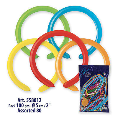 260Q Balloons Latex Modeling Twisting Entertainer 50 ct. - Twisting Balloons
