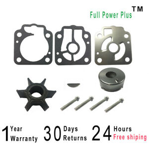 Water Pump Impeller Kit for Nissan Tohatsu Outboards 3T5-87322-3 3T5873223M