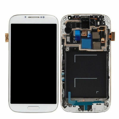 WOW For Samsung Galaxy S4 SCH-I545 R970 SPH-L720 Creamy Touch Screen +LCD + Frame