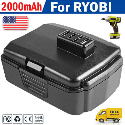For Ryobi CB120L 12Volt Lithium Battery CB121L BPL-1220 BID-1201 CR-1201 HP612K 1201 12 Volt Battery