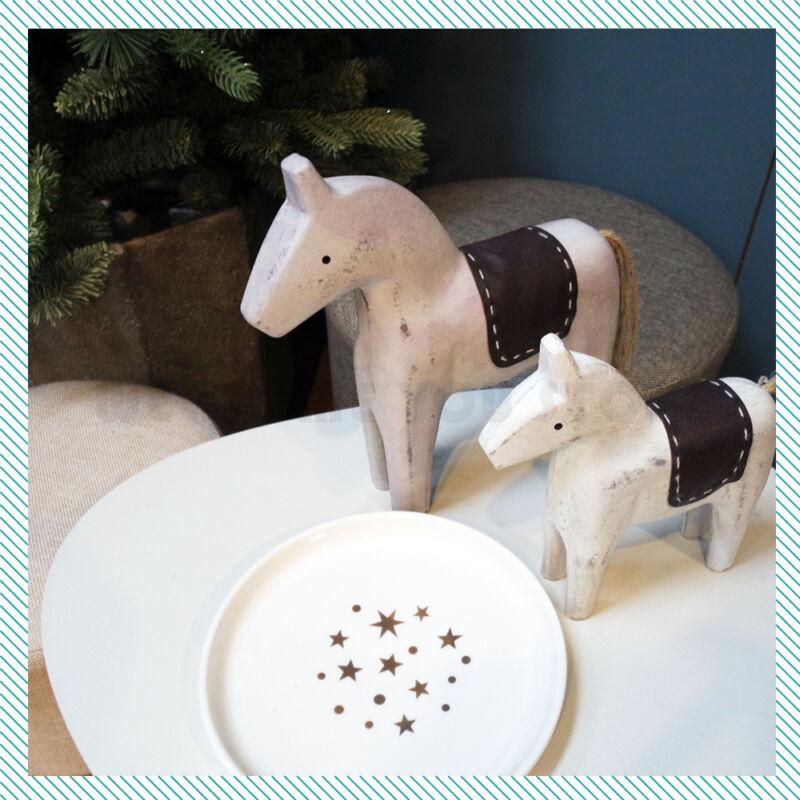23cm Vintage Style Swedish Dala Horse Style Sweden Art Hand Crafted Home Decor