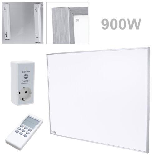 900W Infrarotheizung Heizwand IR Infrarot-Wärmeplatte mit Thermostat Ultraflach