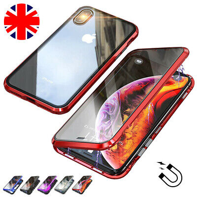 Magnetic Absorption 360 Protective Case Cover For iPhone X Xs Max XR 7 8 Plus