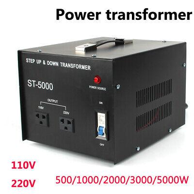 5000W Volt Transformer 110V To 220V Step Up Down Voltage Converter