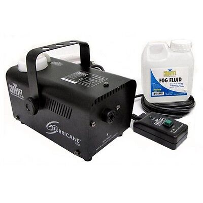 Chauvet DJ Hurricane Pro Fog Smoke Machine with Fog Fluid and Remote | H700