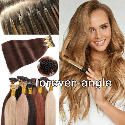 Pre Bonded Keratin Fusion Stick I Tip Hair 100% Remy Human Hair Extensions 1g/s ()