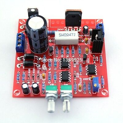 Power Supply Diy Kit Adjustable Dc Regulated Short Circuit Current Protection