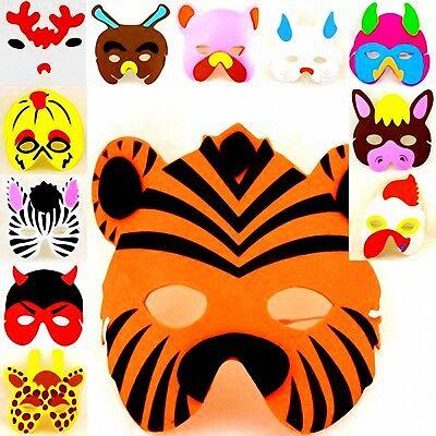 😊 1 x Mossgummi Masken für Kinder 12 Motive  Mitgebsel Kindergeburtstag