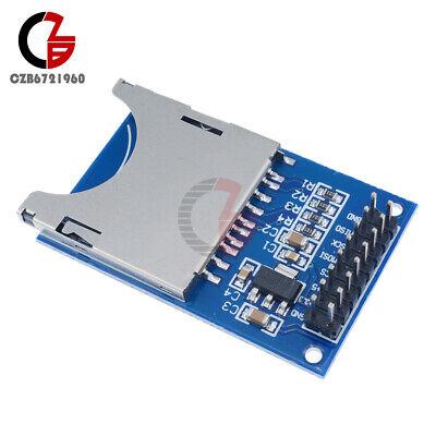 10pcs Sd Card Module Slot Socket Reader Spi Armmcu For Arduino Peripheral Mp3