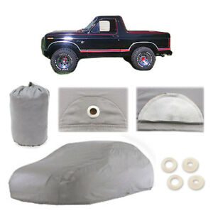 Ford Bronco 5 Layer Car Cover Fitted In Out door Water Proof Rain Snow Sun Dust