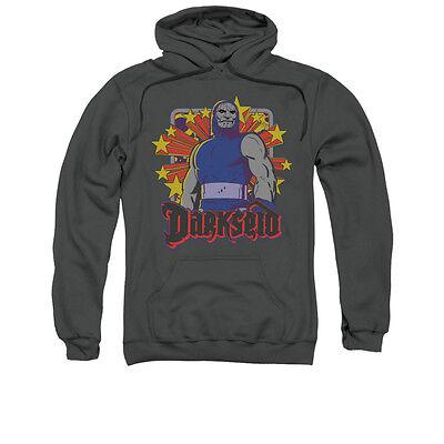 DC COMICS DARKSEID STARS Licensed Adult Pullover Hooded Sweatshirt Hoodie SM-3XL Dc Star Pullover Hoodie