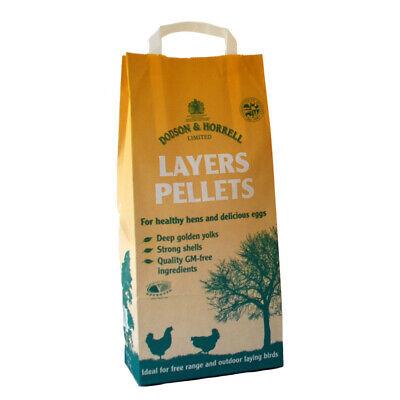 POULTRY LAYERS PELLETS 5kg BAG. Dodson & Horrell Chicken / Bantam / Duck (DH215)