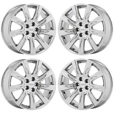 "20"" Cadillac XT4 PVD Chrome wheels rims Factory OEM 2019 2020 2021 set 4 4826"
