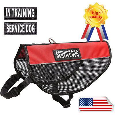 Dog Harness Best 2 Reflective Service Dog Patches and Sturdy