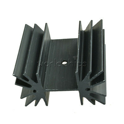 Ic Aluminum Heat Sink 35x42x25.4mm Cooling Fin For Module Mosfet Transistors