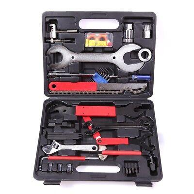 Fahrrad Werkzeug Reparatur Set 44 teilig Werkzeugkoffer Fahrradwerkzeugset
