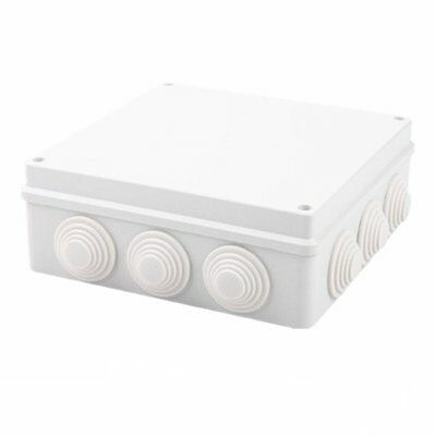 Ip65 Sealed Waterproof Junction Box Plastic Electric Enclosure Case 200x200x80mm