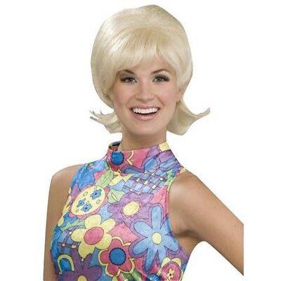 Carol Brady Wig Blonde 70s Brady Bunch TV Show Florence Henderson Groovy Flip - Carol Brady Wig