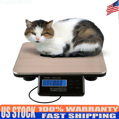 Digital 300kg 660lb Heavy Duty Platform Warehouse Weigh Scale Pet Weigh Scale Us