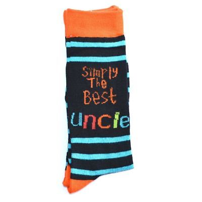 Simply The Best Uncle Socks, Fathers Day Gifts, Christmas Gift