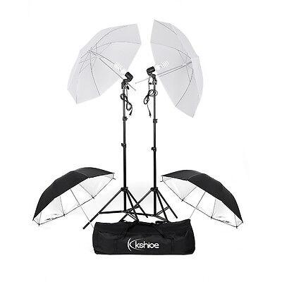 "Photography Photo Studio 33"" Umbrellas Day Light Reflector Umbrella Lighting Kit"