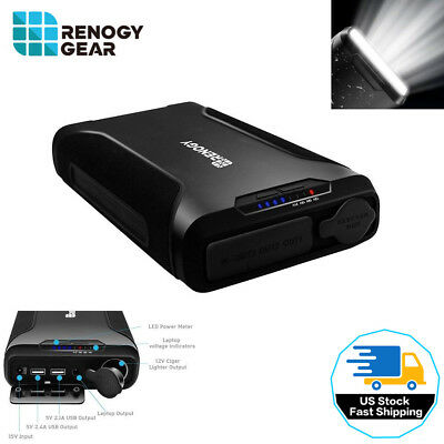 72000mAh 2 USB External Power Bank Portable Charger W/ LED Light Phone Laptop