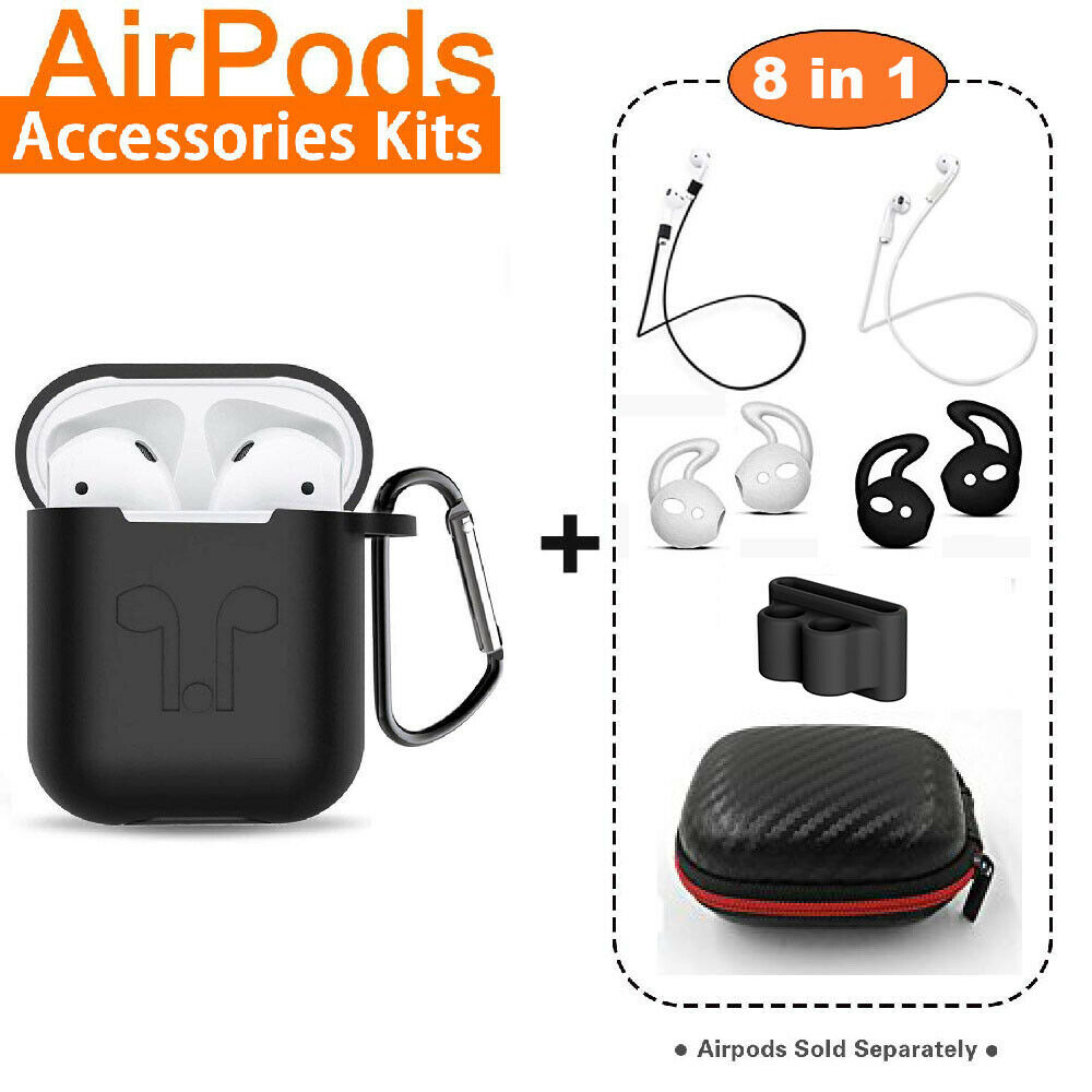 AirPods Silicone Case Cover Protective Skin for Apple Airpod