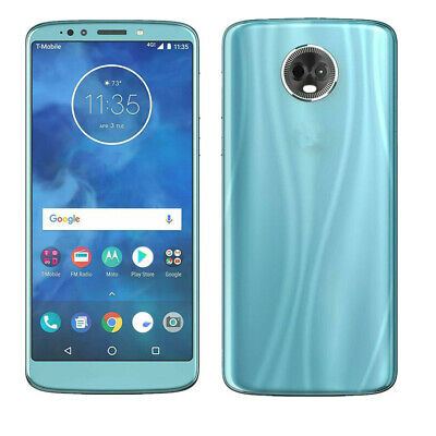 Motorola Moto E5 Plus XT1924 ATT GSM Unlocked Single SIM 3+32GB Blue Smartphone
