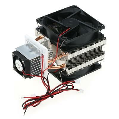 12v 6a 72w Diy Refrigeration Semiconductor Cooling System Electronic Cooler X8a6