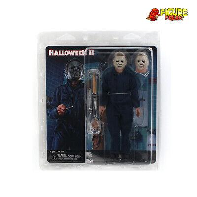 NECA Halloween 2 1981 Film Michael Myers Retro Bekleidet Figur (NM Verpackung)