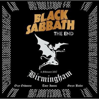 The End by Black Sabbath [PA] (CD, Nov-2017, 2-Discs, Eagle Records) *NEW*