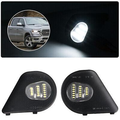 2x 18LED Side Mirror Puddle Light For Dodge Ram 1500 2500 3500 4500 5500 2010 19
