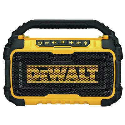 DEWALT DCR010 12V/20V MAX Jobsite Bluetooth Speaker New