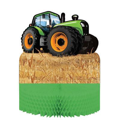 Tractor Time Farm Party Supplies Centerpiece table decoration  9 x 12 inch - Farm Centerpieces