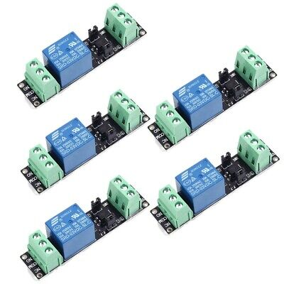 5pcs 3V 3.3V Relay High Level Driver Module optocouple Relay Module for Arduino