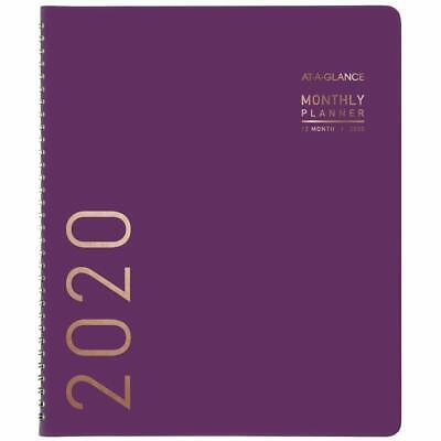 At-a-glance 2020 Monthly Planner 9 X 11 Large Contemporary Purple