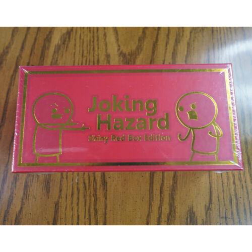 Joking Hazard Shiny Red Box Edition - Cyanide & Happiness, SEALED