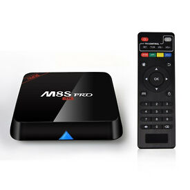Android TV M8S Pro 2/8Gb, Android 5.1, Kodi (own build!), Mobdro, Showbox +! TV, Sports, Films
