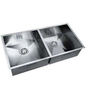 NEW FREE SHIPPING - Stainless Steel Kitchen/Laundry Sink w/ Stra Bolwarra Glenelg Area Preview
