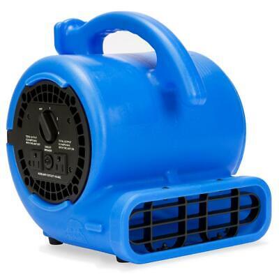 B-air Air Mover Blower Fan Vp-20 15 Hp 115-volt 3-speed Blue