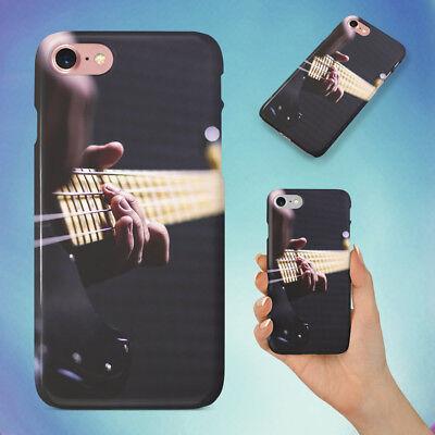 Sun Burst Electric Bass Guitar Hard Back Case For Apple Iphone Phone