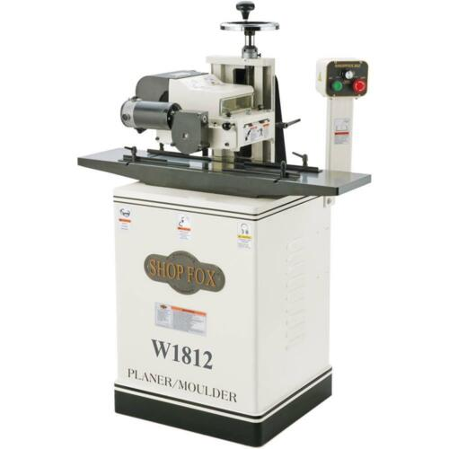 "W1812 - 2 HP 7"" Planer / Moulder with Stand - Floor Model"